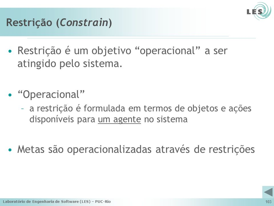 Restrição (Constrain)