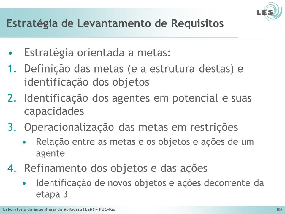 Estratégia de Levantamento de Requisitos