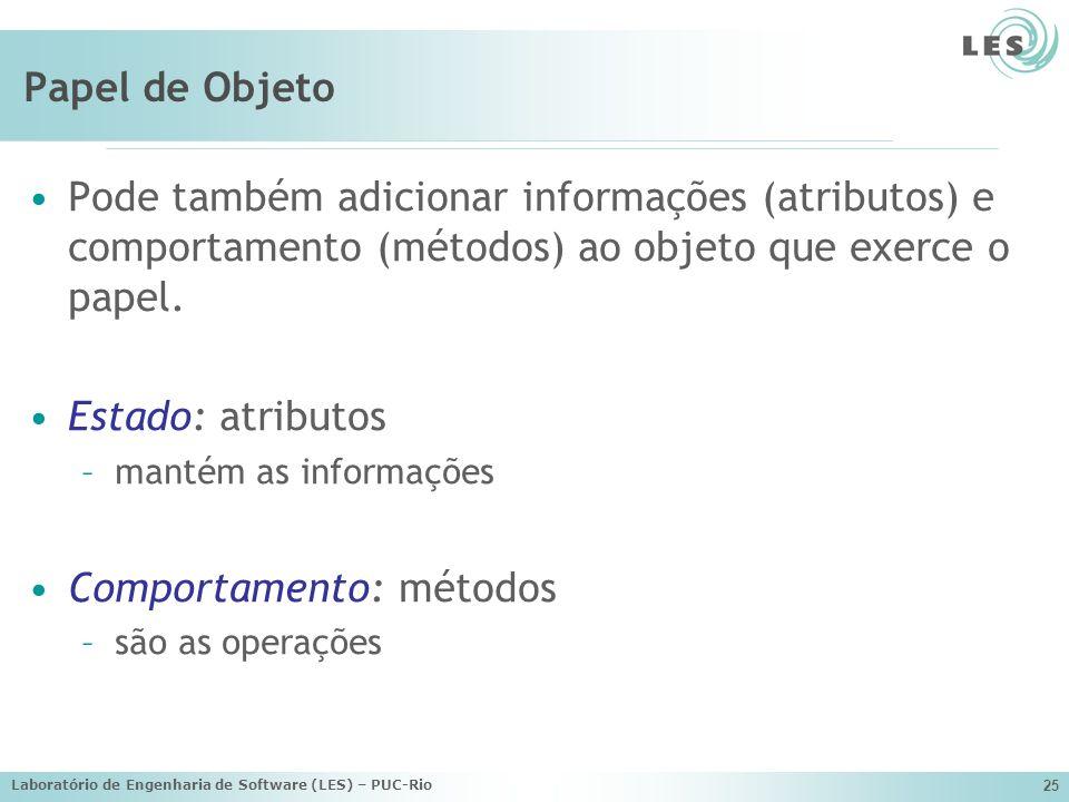 Comportamento: métodos