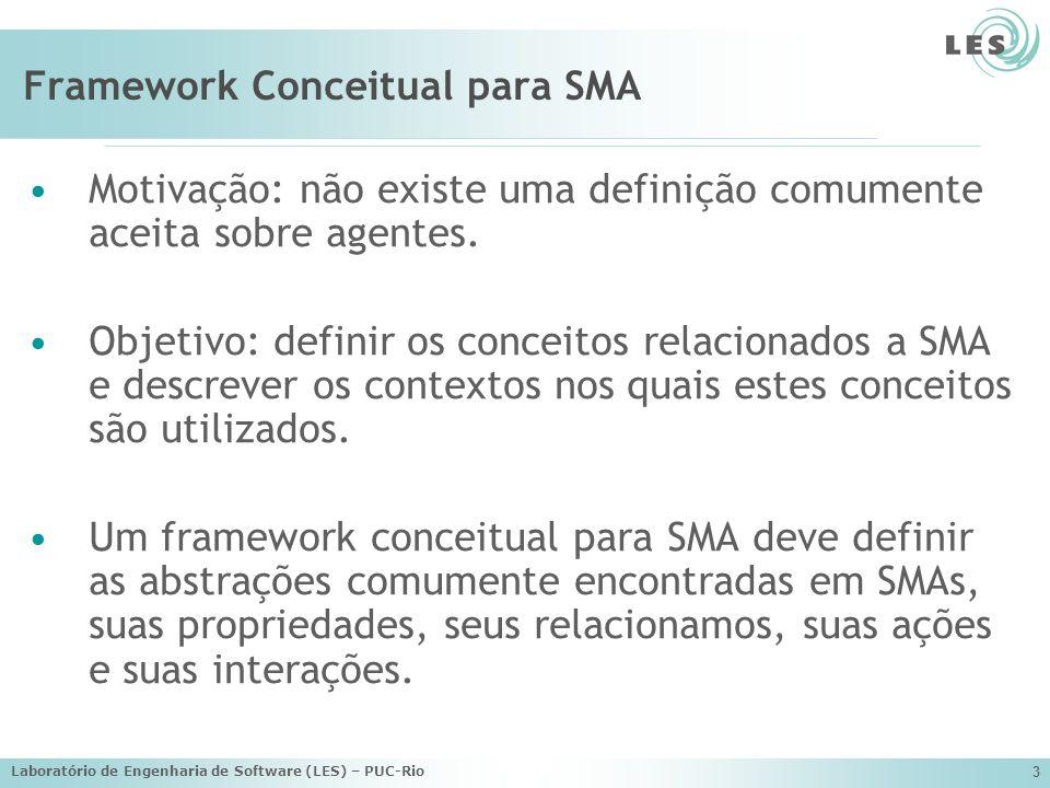 Framework Conceitual para SMA