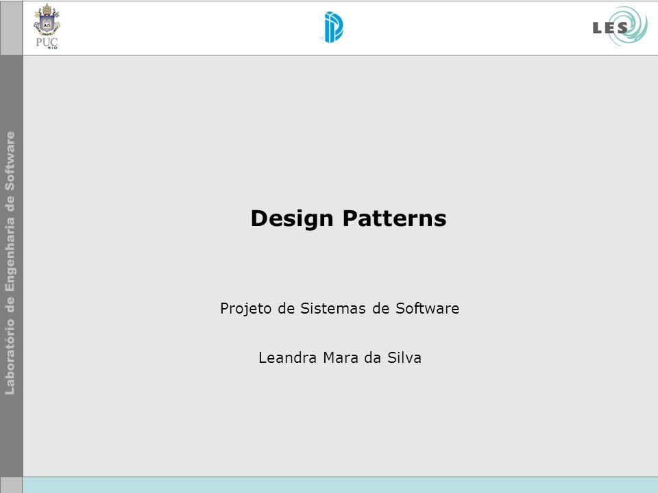 Projeto de Sistemas de Software Leandra Mara da Silva