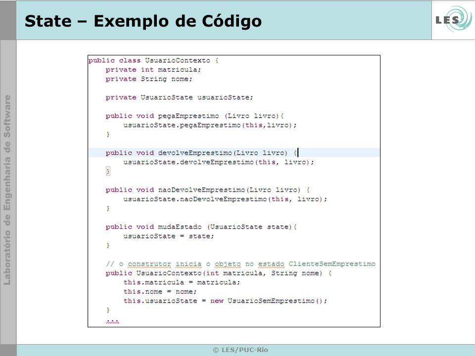 State – Exemplo de Código