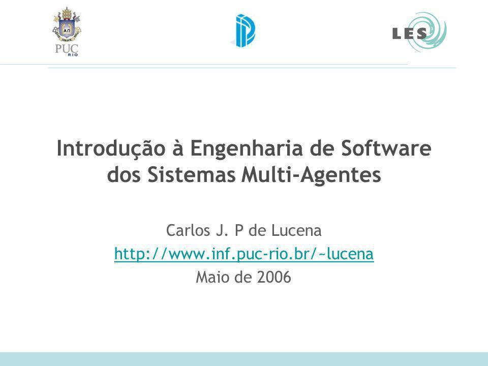 Introdução à Engenharia de Software dos Sistemas Multi-Agentes