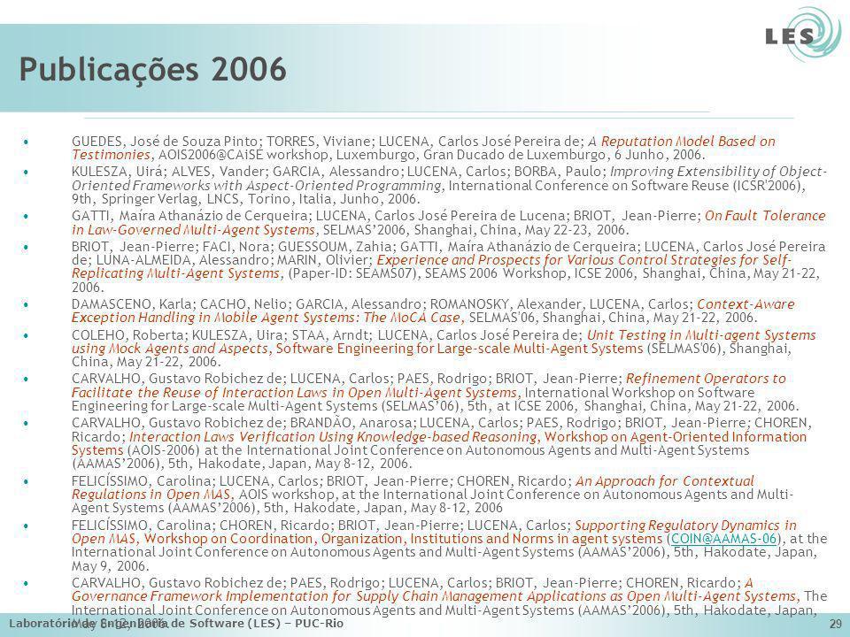 Publicações 2006