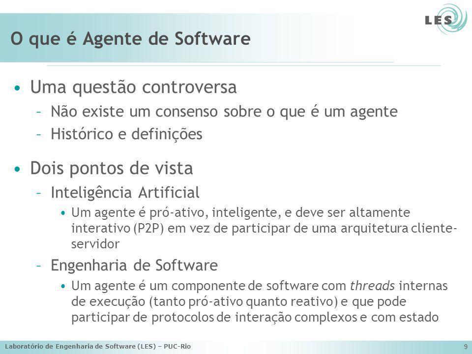 O que é Agente de Software
