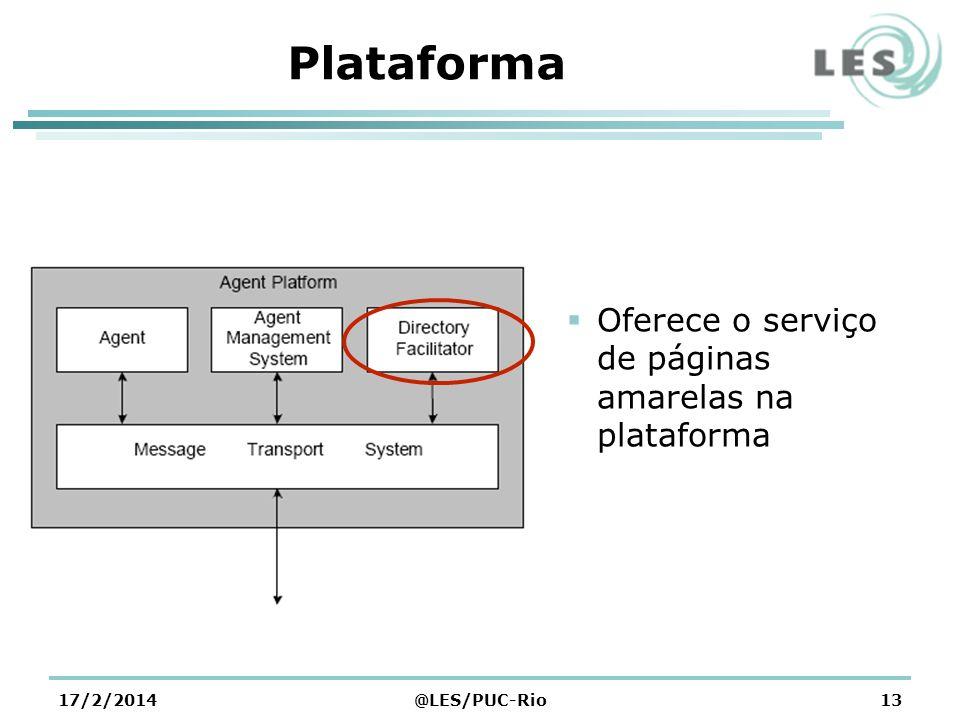 Plataforma Oferece o serviço de páginas amarelas na plataforma