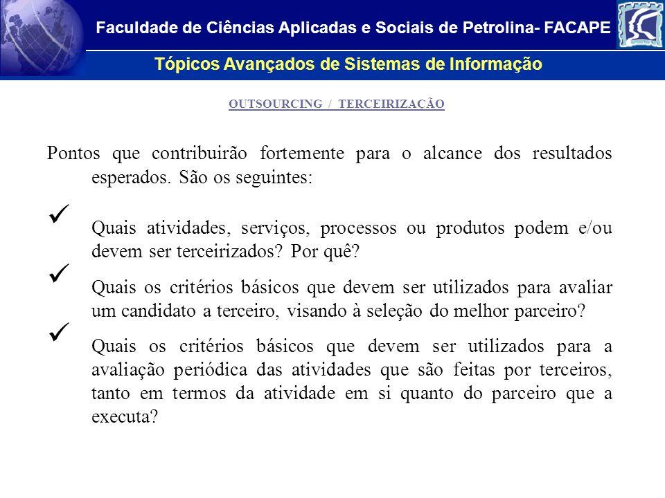 Faculdade de Ciências Aplicadas e Sociais de Petrolina- FACAPE