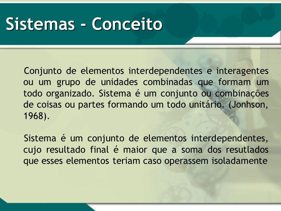 Sistemas - Conceito