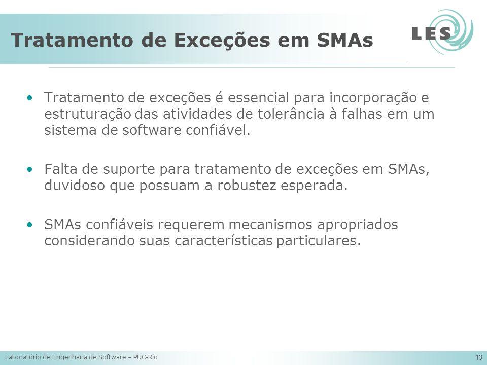Tratamento de Exceções em SMAs