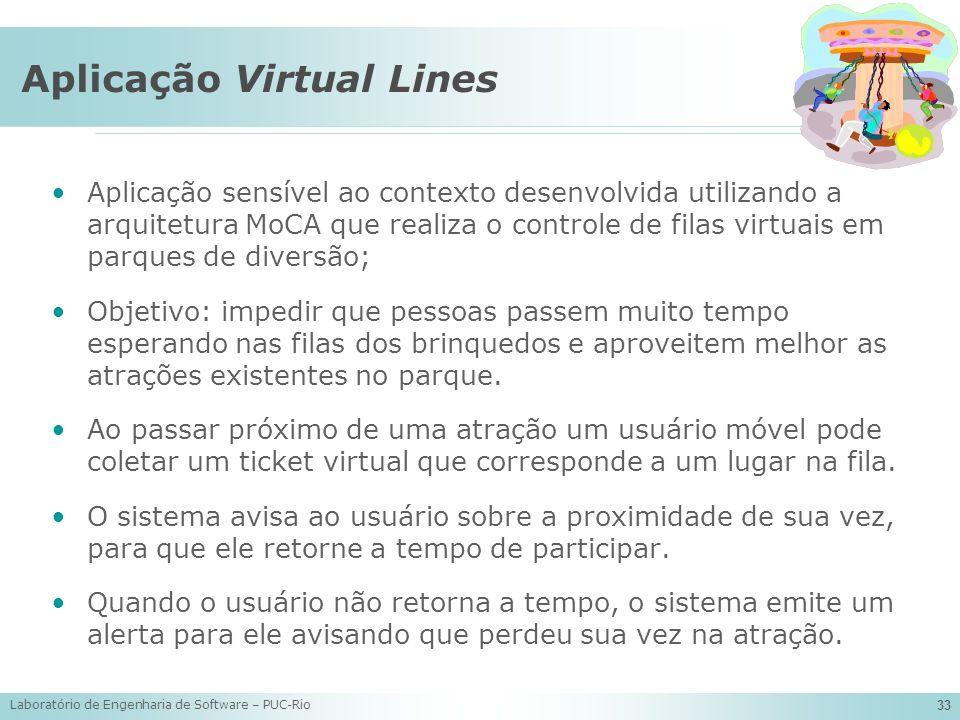 Aplicação Virtual Lines