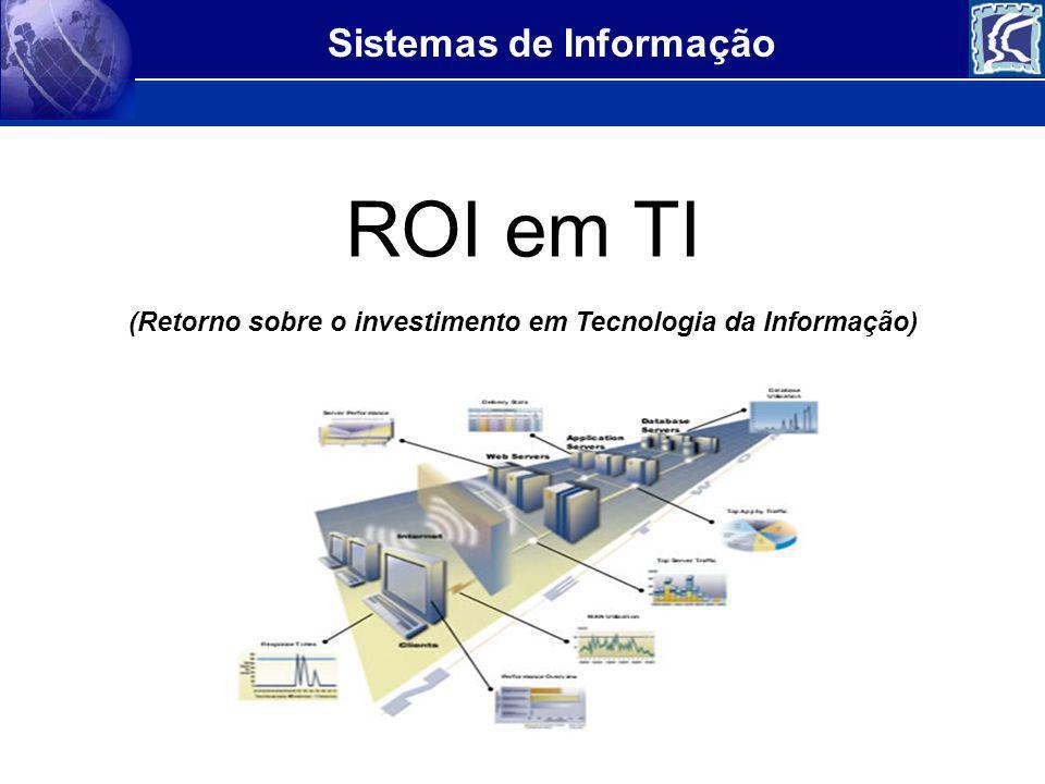 (Retorno sobre o investimento em Tecnologia da Informação)