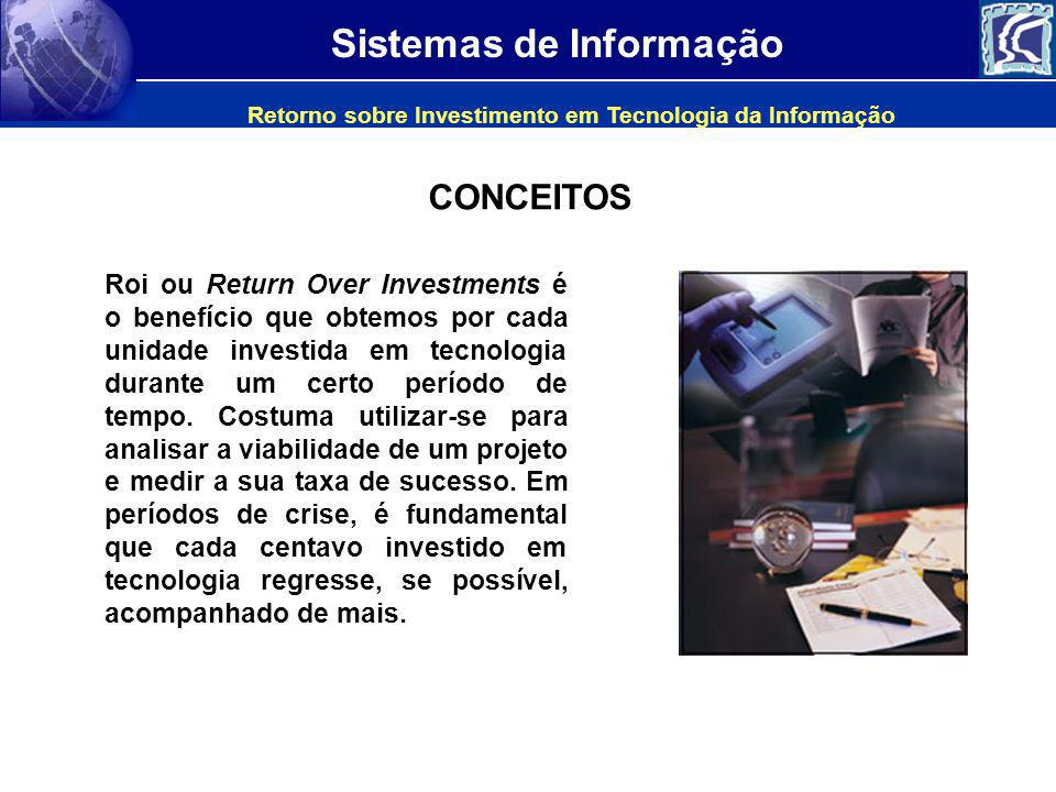 Retorno sobre Investimento em Tecnologia da Informação
