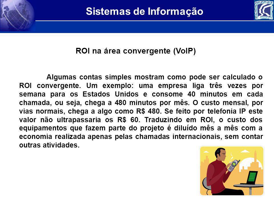 ROI na área convergente (VoIP)