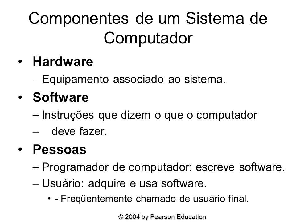 Componentes de um Sistema de Computador
