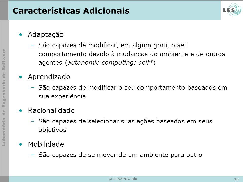 Características Adicionais