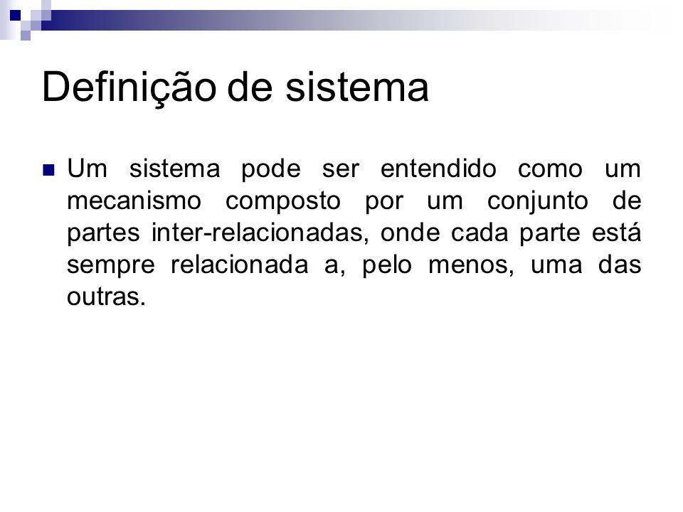 Definição de sistema