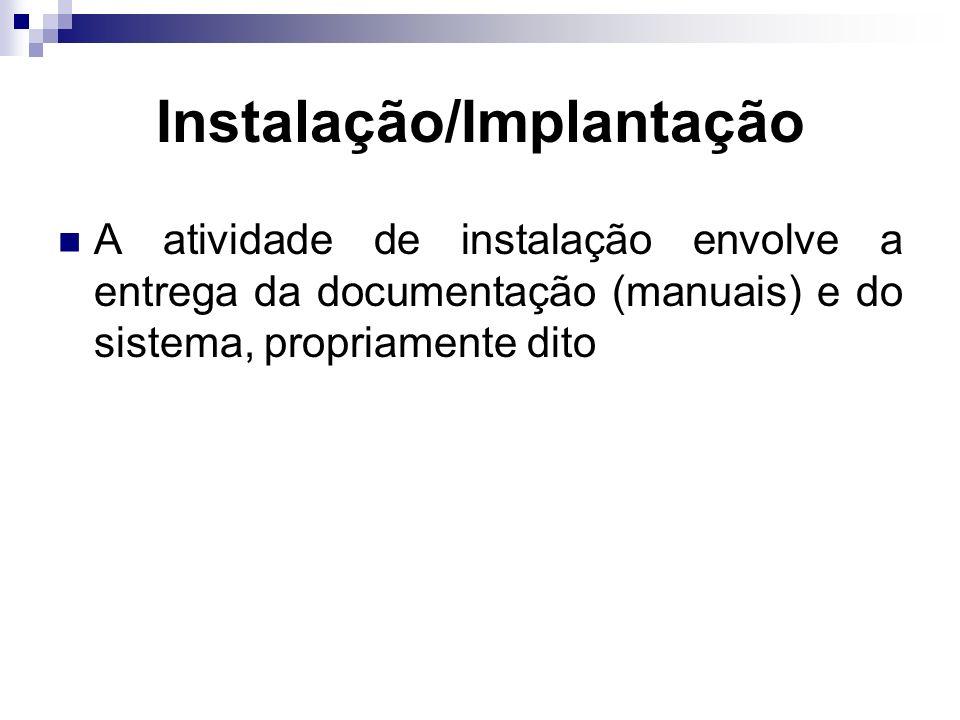 Instalação/Implantação