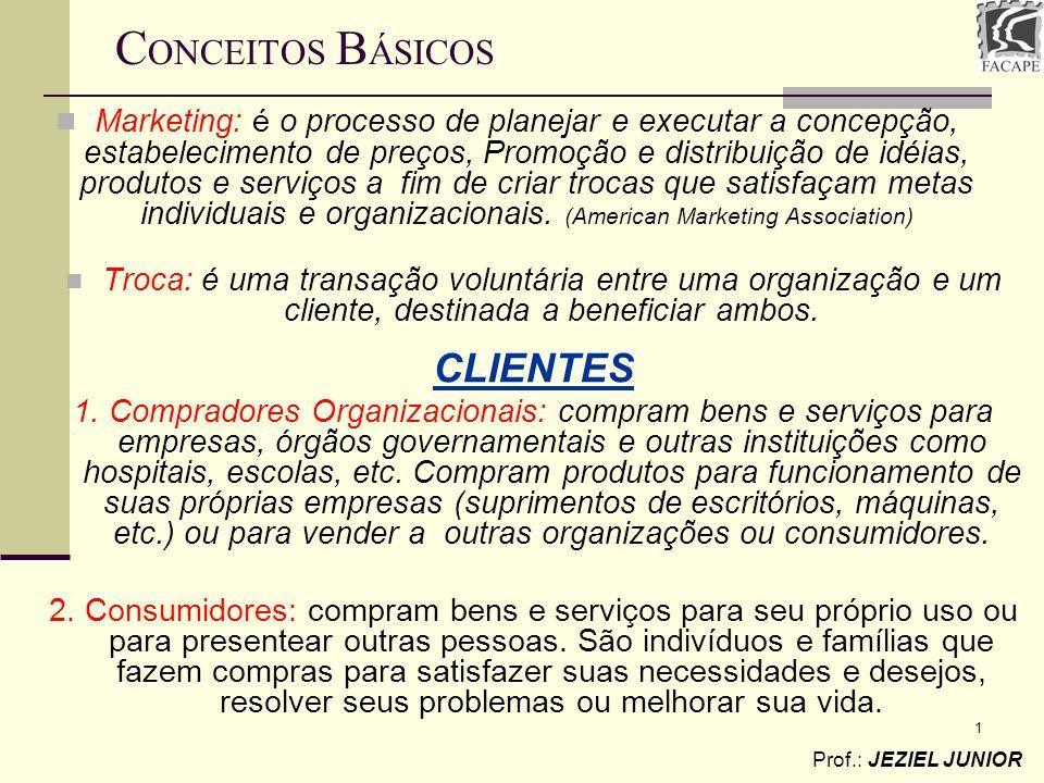 CONCEITOS BÁSICOS CLIENTES