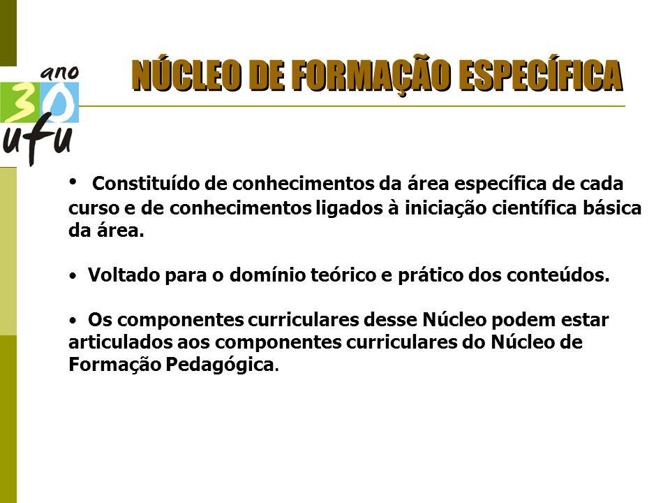 NÚCLEO DE FORMAÇÃO ESPECÍFICA