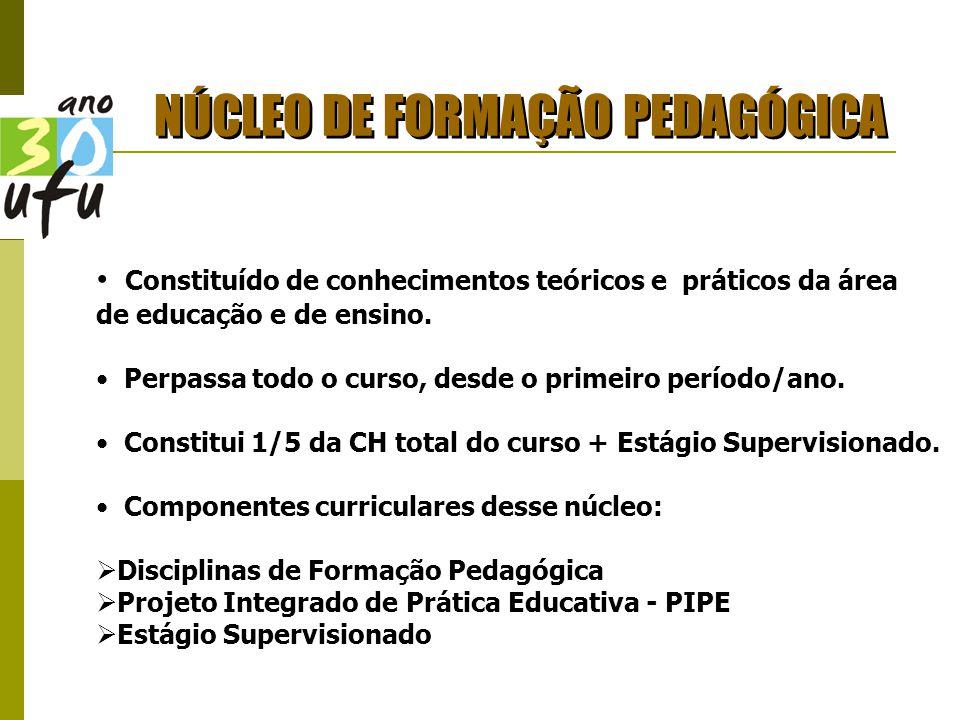 NÚCLEO DE FORMAÇÃO PEDAGÓGICA