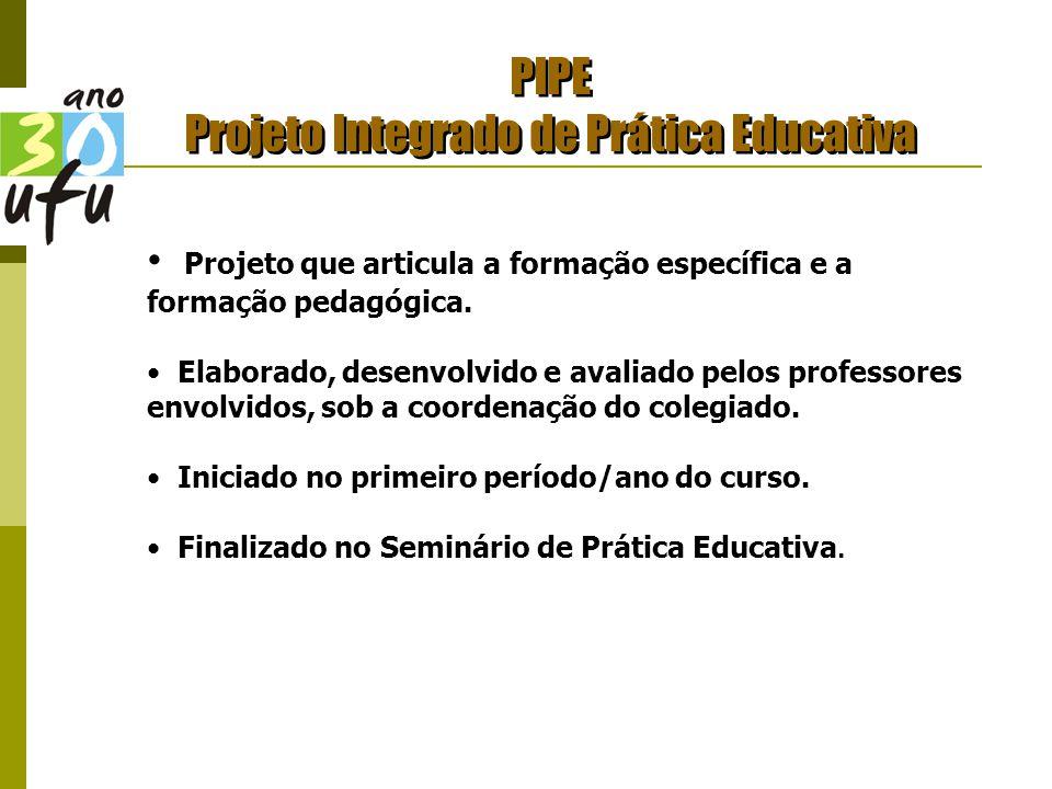 PIPE Projeto Integrado de Prática Educativa