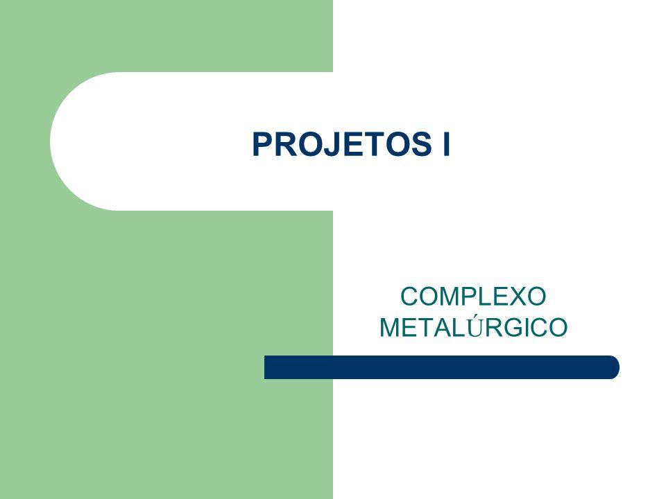 PROJETOS I COMPLEXO METALÚRGICO