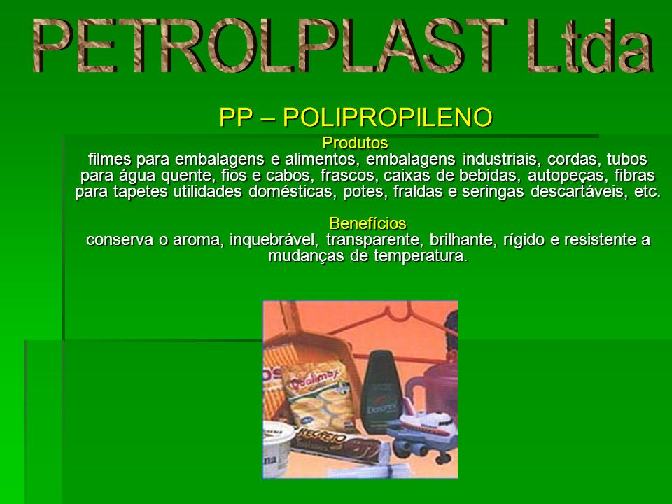 PETROLPLAST Ltda PP – POLIPROPILENO
