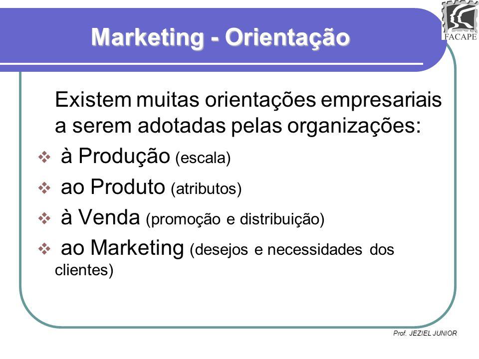 Marketing - Orientação