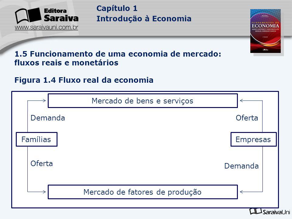 Figura 1.4 Fluxo real da economia