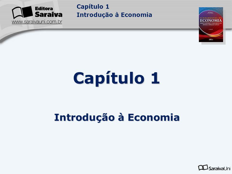 Capítulo 1 Introdução à Economia 4 4 4