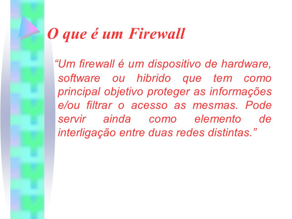 O que é um Firewall