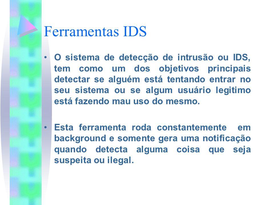 Ferramentas IDS