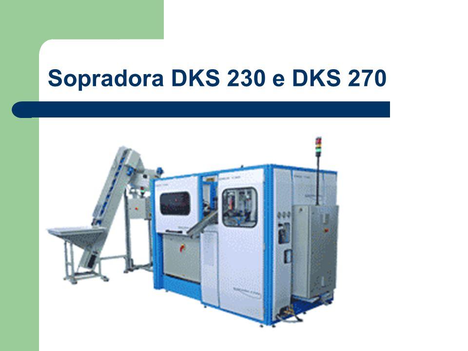 Sopradora DKS 230 e DKS 270