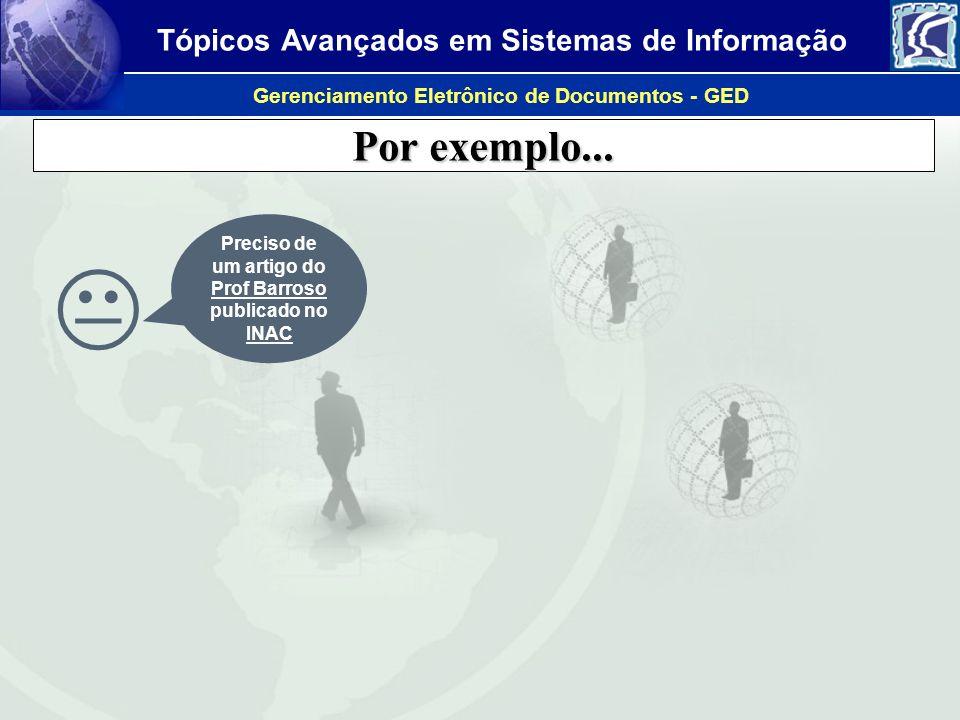 Preciso de um artigo do Prof Barroso publicado no INAC