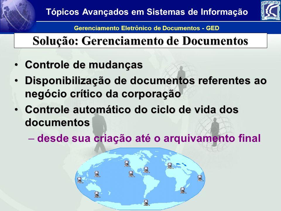 Solução: Gerenciamento de Documentos