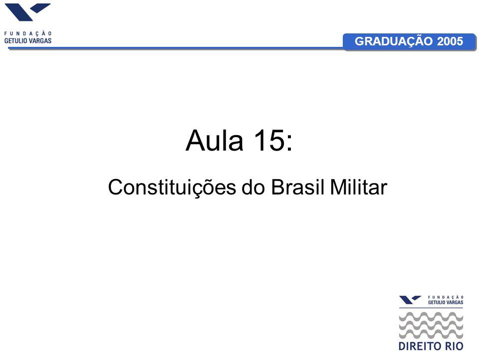 Constituições do Brasil Militar