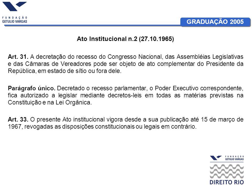 Ato Institucional n.2 (27.10.1965)