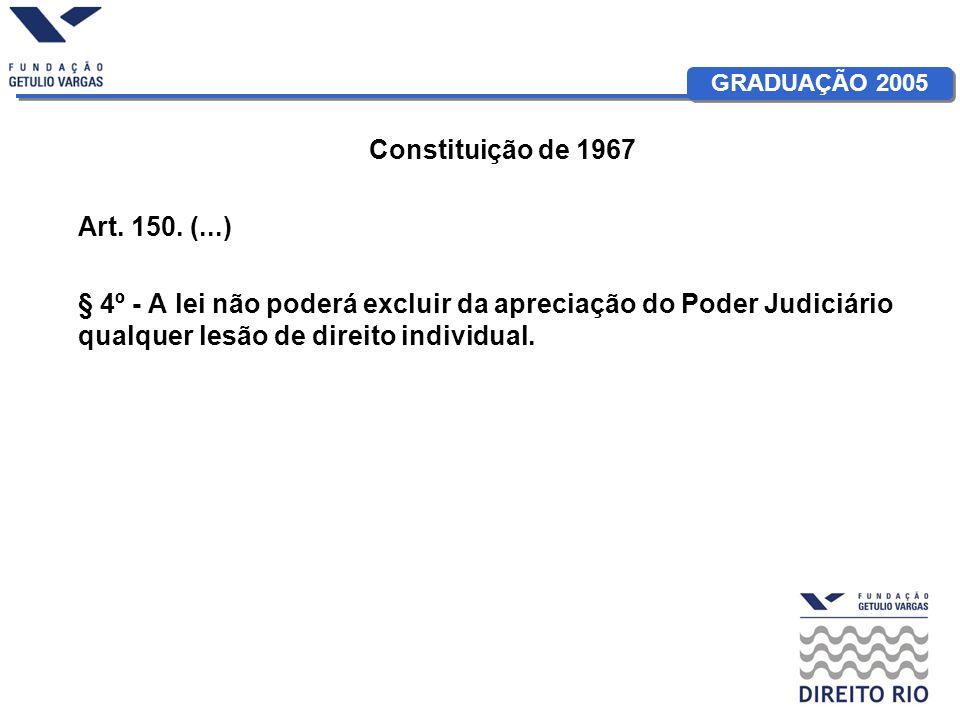 Constituição de 1967 Art. 150.