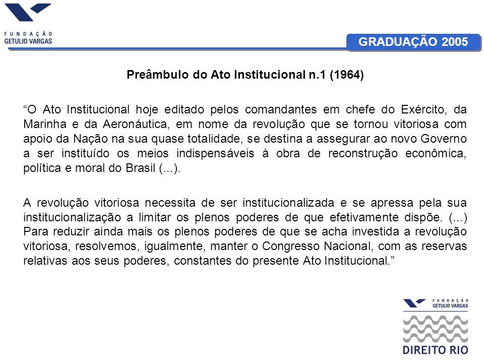 Preâmbulo do Ato Institucional n.1 (1964)