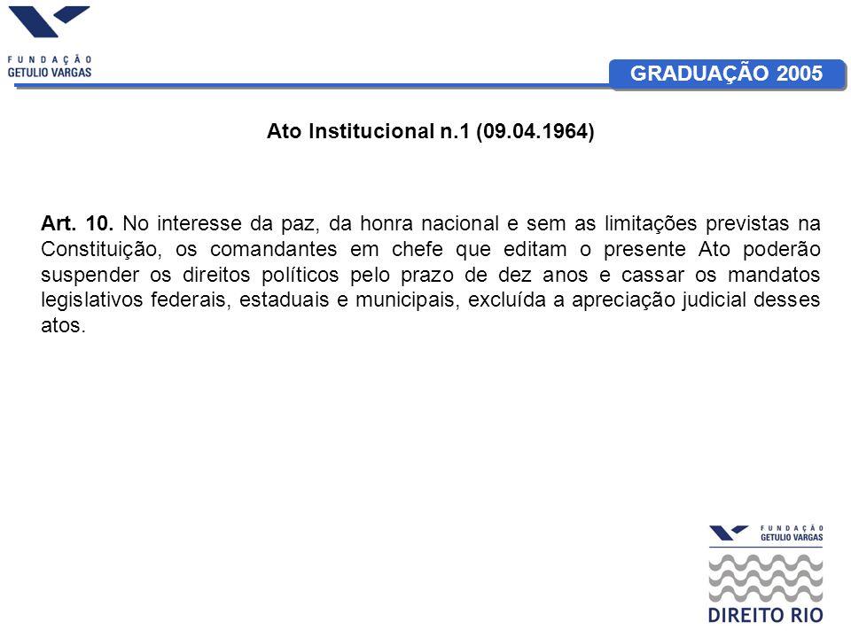 Ato Institucional n.1 (09.04.1964)