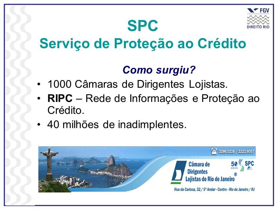 SPC Serviço de Proteção ao Crédito