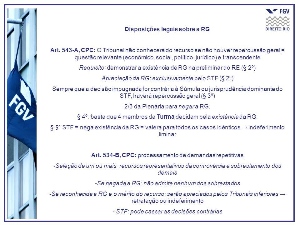 Disposições legais sobre a RG