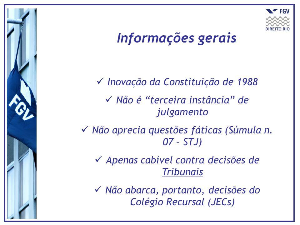 Informações gerais Inovação da Constituição de 1988