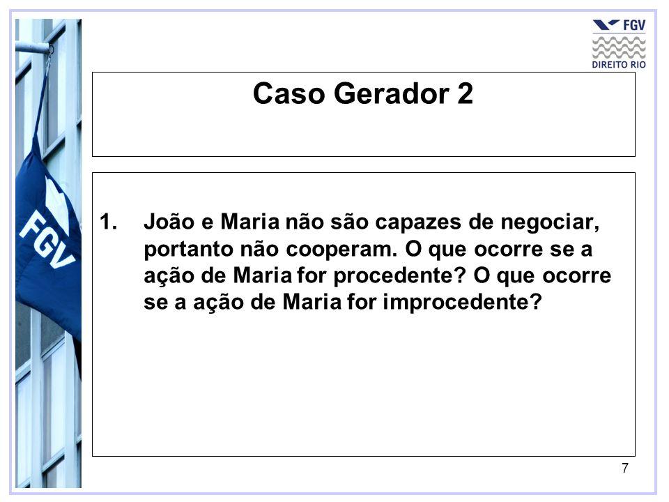 Caso Gerador 2