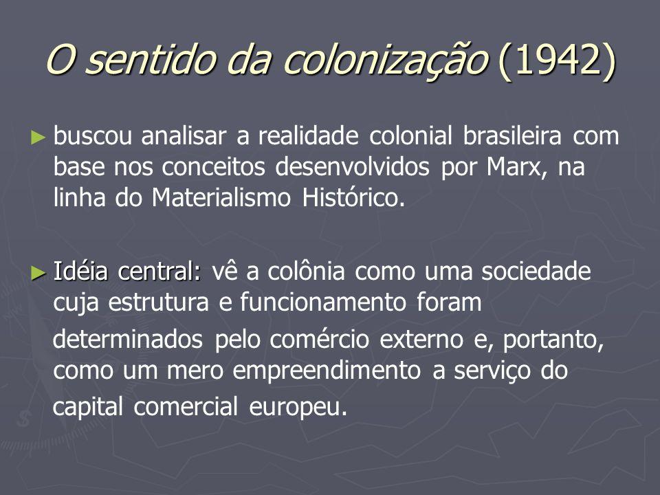 O sentido da colonização (1942)