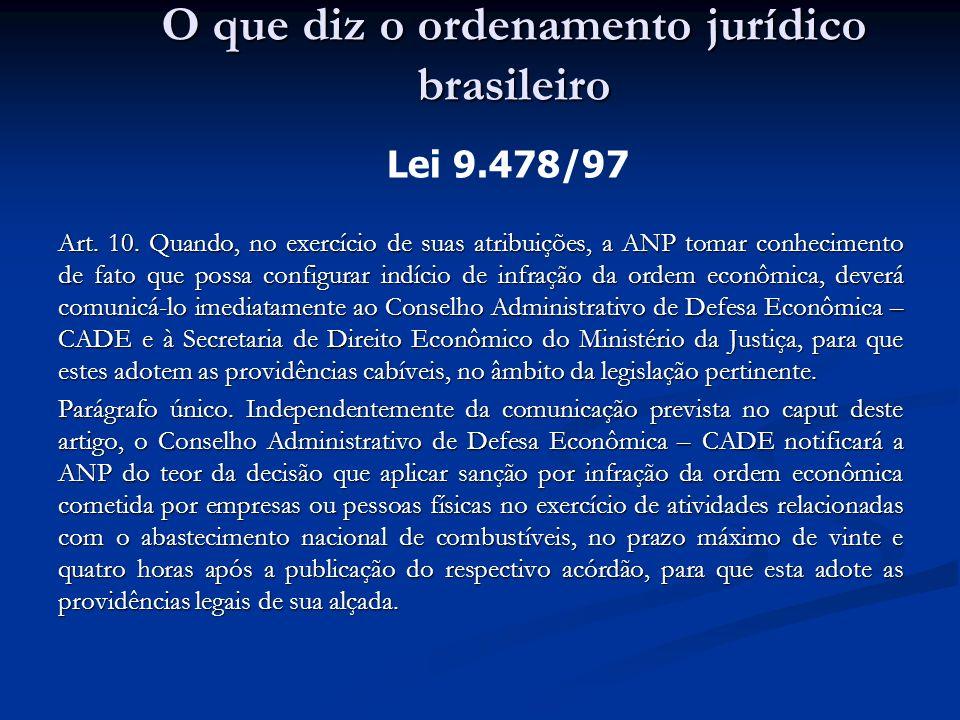 O que diz o ordenamento jurídico brasileiro