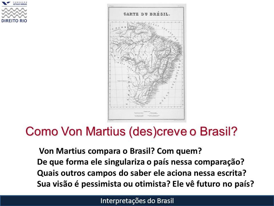 Como Von Martius (des)creve o Brasil