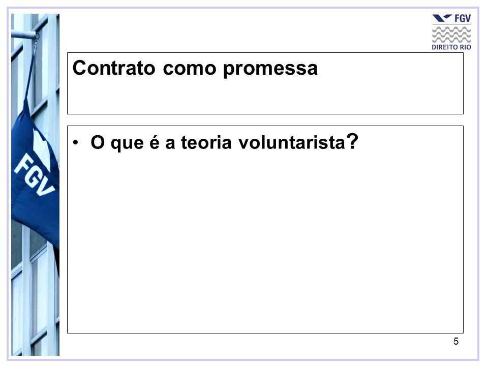 Contrato como promessa