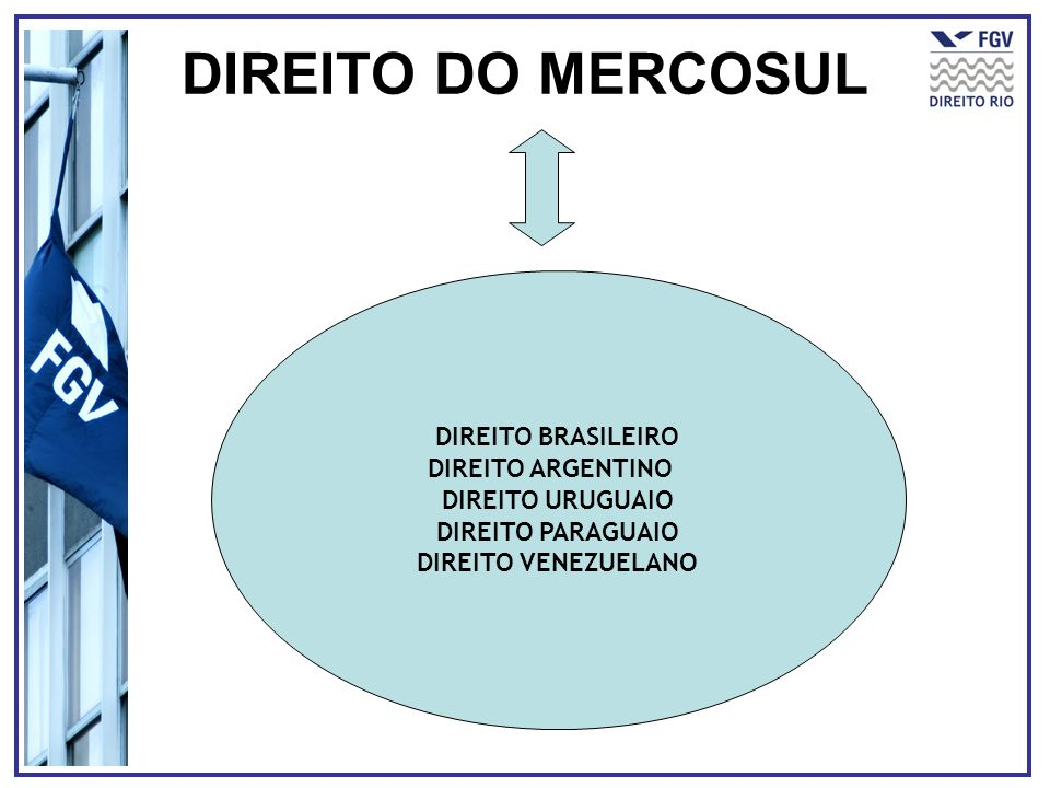 DIREITO DO MERCOSUL DIREITO BRASILEIRO DIREITO ARGENTINO