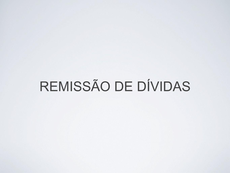 Conta corrente aluguel de cofre REMISSÃO DE DÍVIDAS